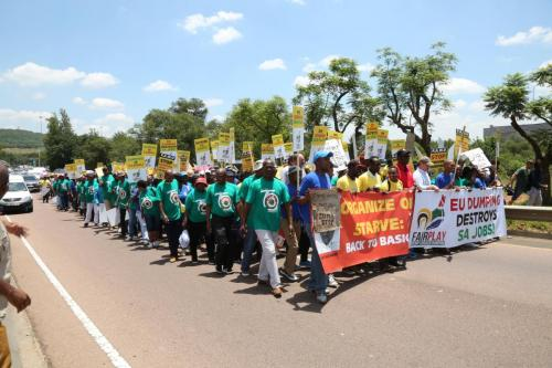 Marchers calling for FairPlay